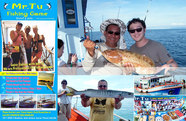 Mr Tu's game fishing tour