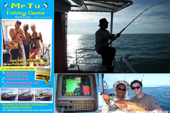 Mr Tu's Night Time game fishing tour