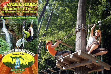Canopy Adventures Cable rides